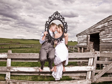 Wedding Couple | Alberta Prairie