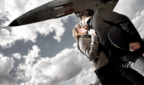 Edmonton engagement photograph, by Shadowbox Studios