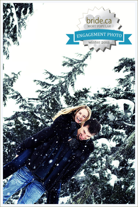 People's Choice: Winter Engagement Photo, 2011 (Canada)