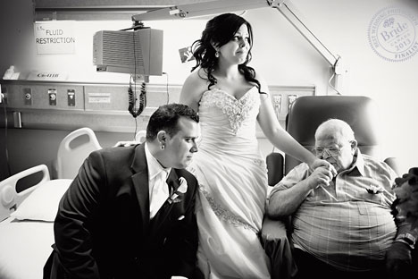 Kellie and Joseph: finalist for Best Weddin gPhoto of 2013 in Canada