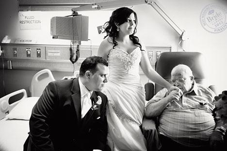 Kellie and Joseph: finalist for Best Weddin gPhoto of 2013 in Canada