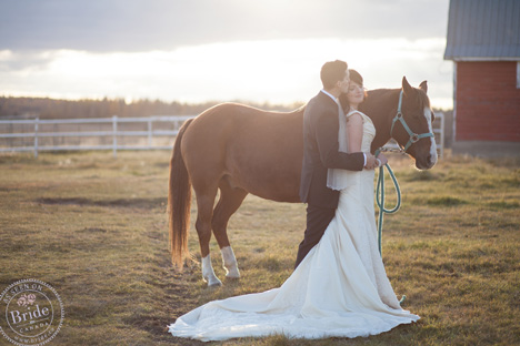 Jasmine & Chase: Alberta country couple