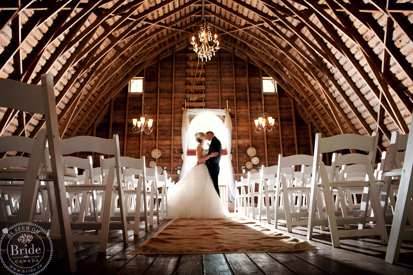 Real Wedding: Chelsea & Tyler's DIY Rustic