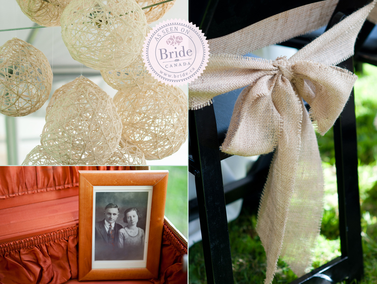 Bride do it yourself wedding a few more of the diy vintage rustic touches solutioingenieria Images