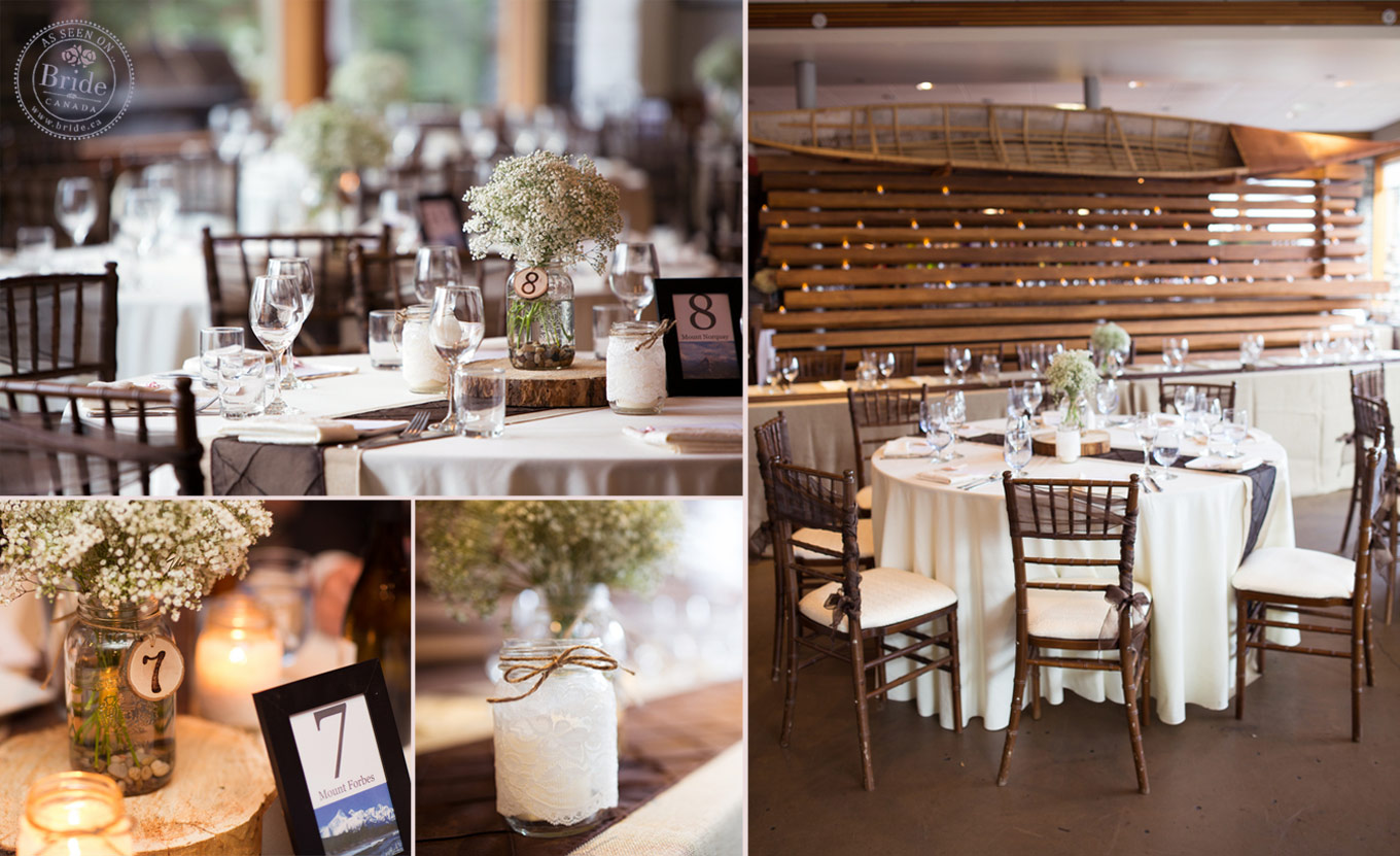 Bride real wedding chris abbis romantic rockies wedding in janelle of special event rentals made the rustic wedding theme come together perfectly junglespirit Gallery