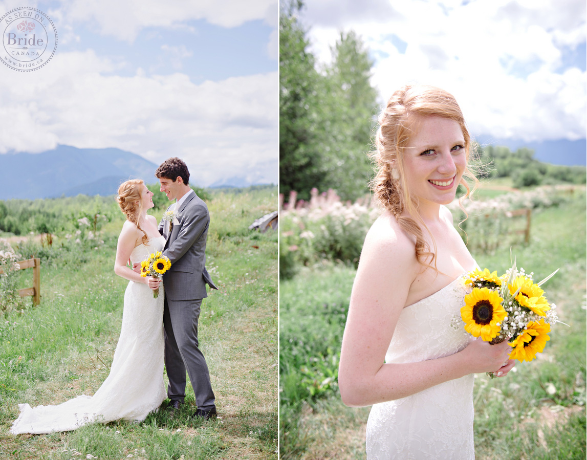 Real Wedding: Emilie & Jan Rustic, Backyard