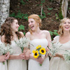 Emilie and her bridesmaids!