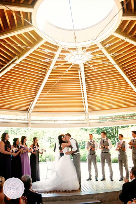Bride Real Wedding Rustic Elegance In The City
