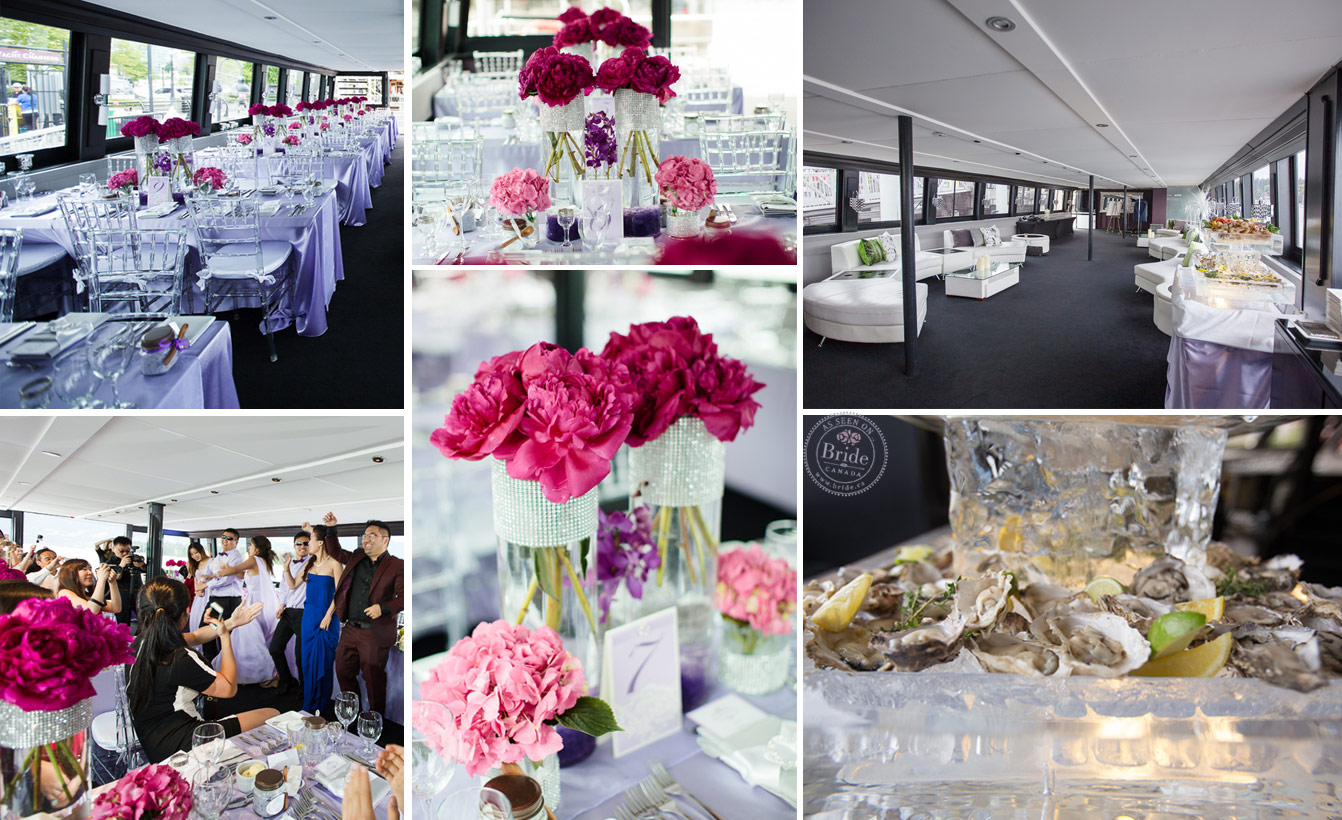 yacht wedding decoration ideas