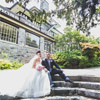 Jessica and Howard enjoyed a private first look on the grounds of Cecil Green before the ceremony.