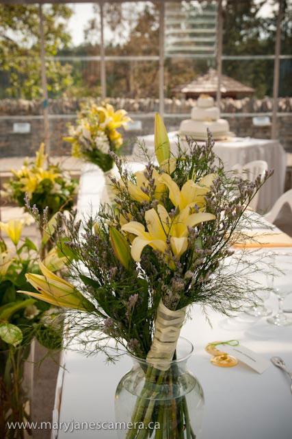 wedding decor: greenhouse wedding