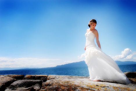 spectacular outdoor, waterfront wedding location, near Vancouver BC
