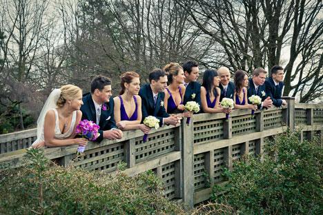 Vancouvers most popular formal wedding photo location: Queen Elizabeth Park