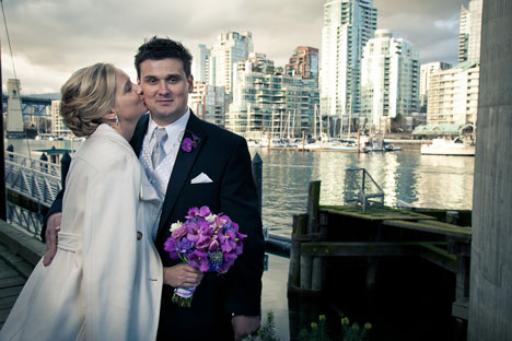 world famouse locale for your wedding photos: Granville SiSland, Vancouver