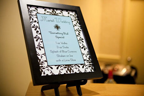 Wedding Bar: personalized, signature cocktails
