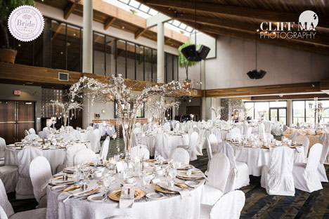 Reception Wedding Venue Surrey BC Northview Golf Country Club Banquet Room