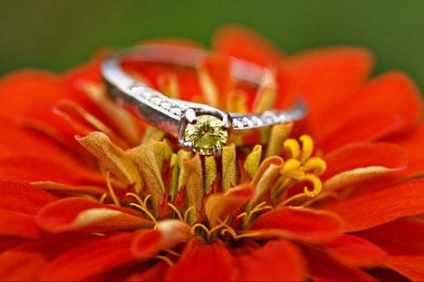 wedding ring photorgaphy, by ENV in Edmonton