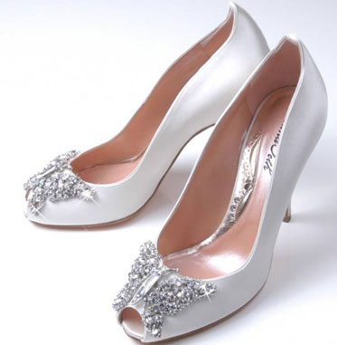 A perfect match for a pearl beaded dress 39Sofia 39 Beaded Wedding Shoes