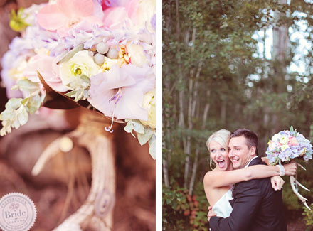 Spring themed inspirational wedding photoshoot by Edmonton wedding planner Stacey Foley; as seen on Bride.Canada