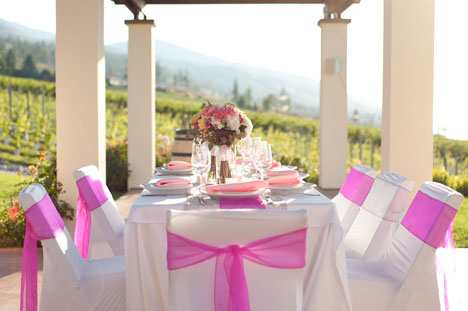 Okanagan sun, winery wedding inspiration