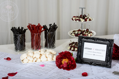 Candy buffet / sweets & deserts table, for a wedding