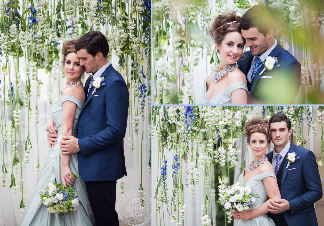 bride.ca | Style Inspiration: \'Placid Blue\' Wedding Theme