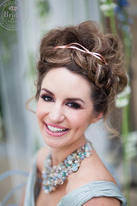 Beautiful updo by Joanne from Fringe Hair in Calgary