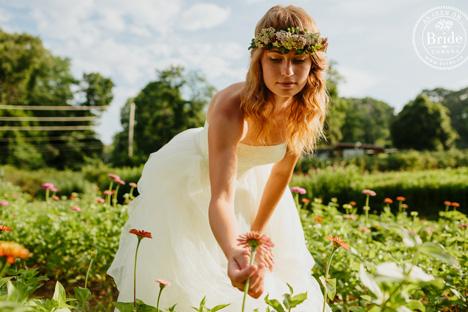 Summer garden bride