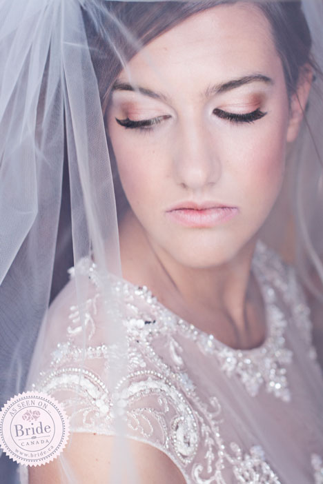Puff Veil with Blusher