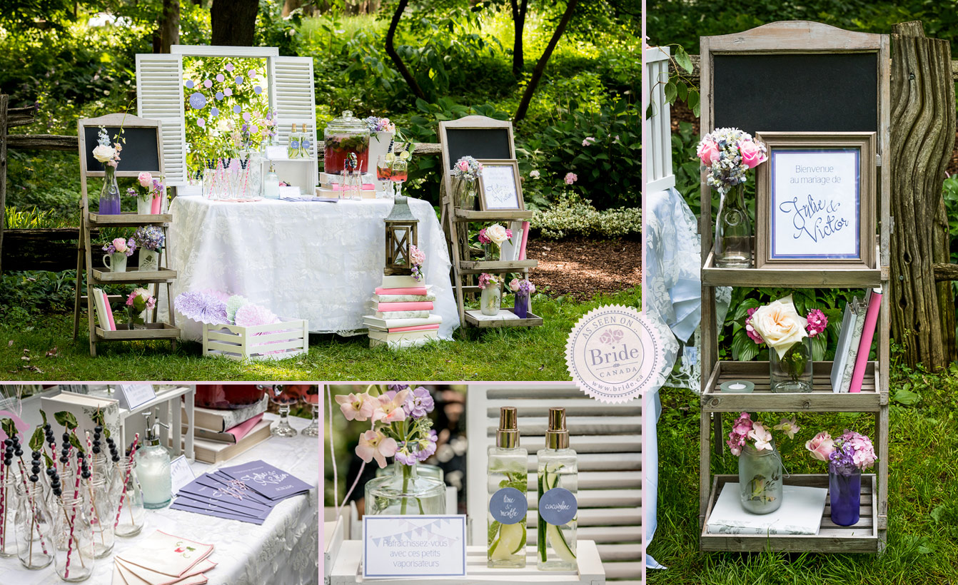 Style inspiration a shabby chic bridal shoot - Decor shooting photo ...
