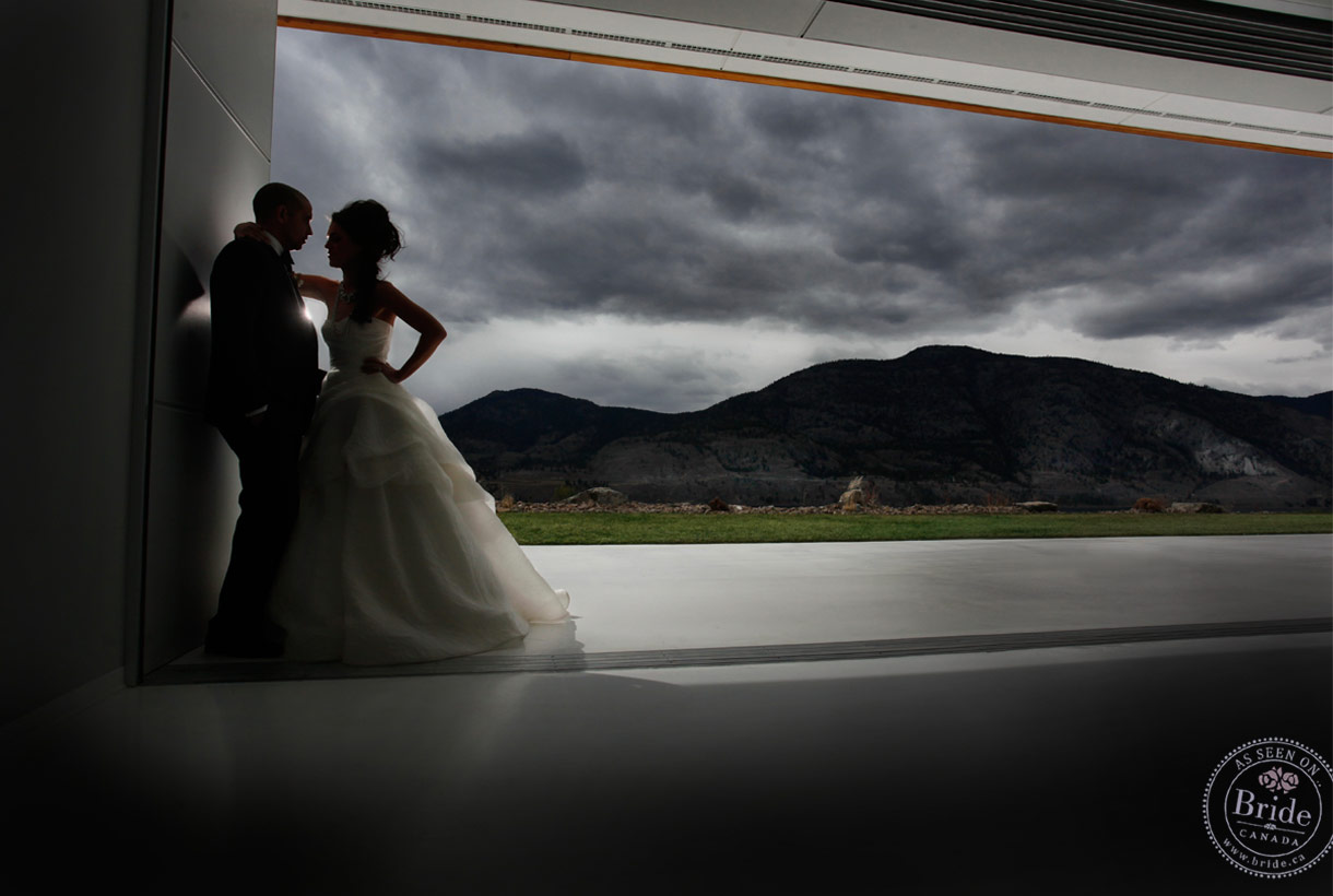 Bride Ca Painted Rock Winery A Modern Okanagan Wedding Editorial