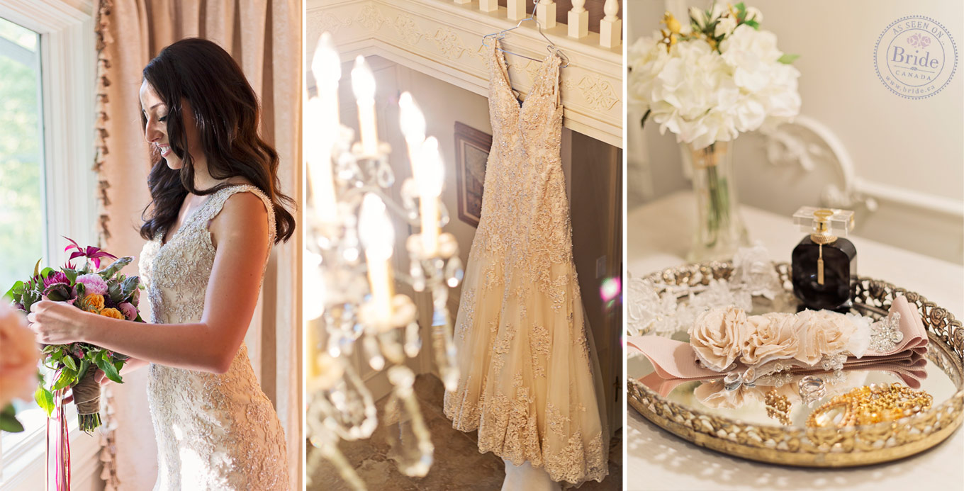 Rich Gold Tones Really Make The Detailing Stand Out On This Stella York Gown From Its