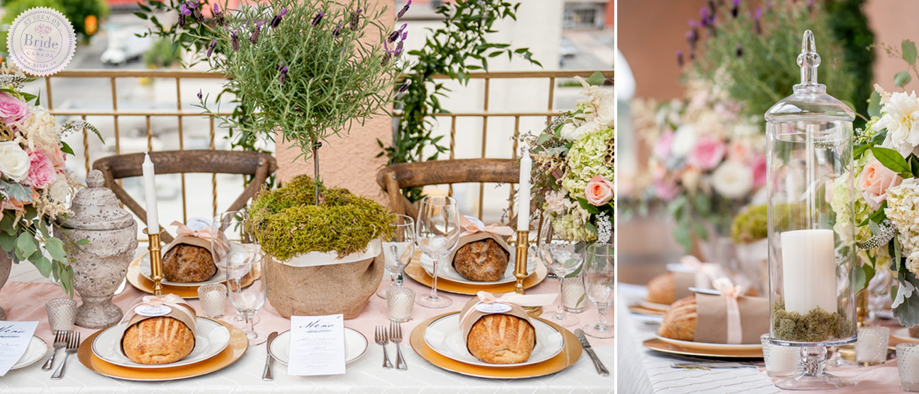 Amazing Loaves Of Bread Are Add Interest To The Table Setting And Make A Unique  Favor.