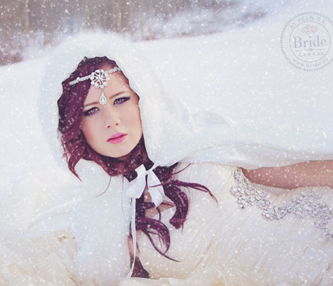 Snow Princess Bride
