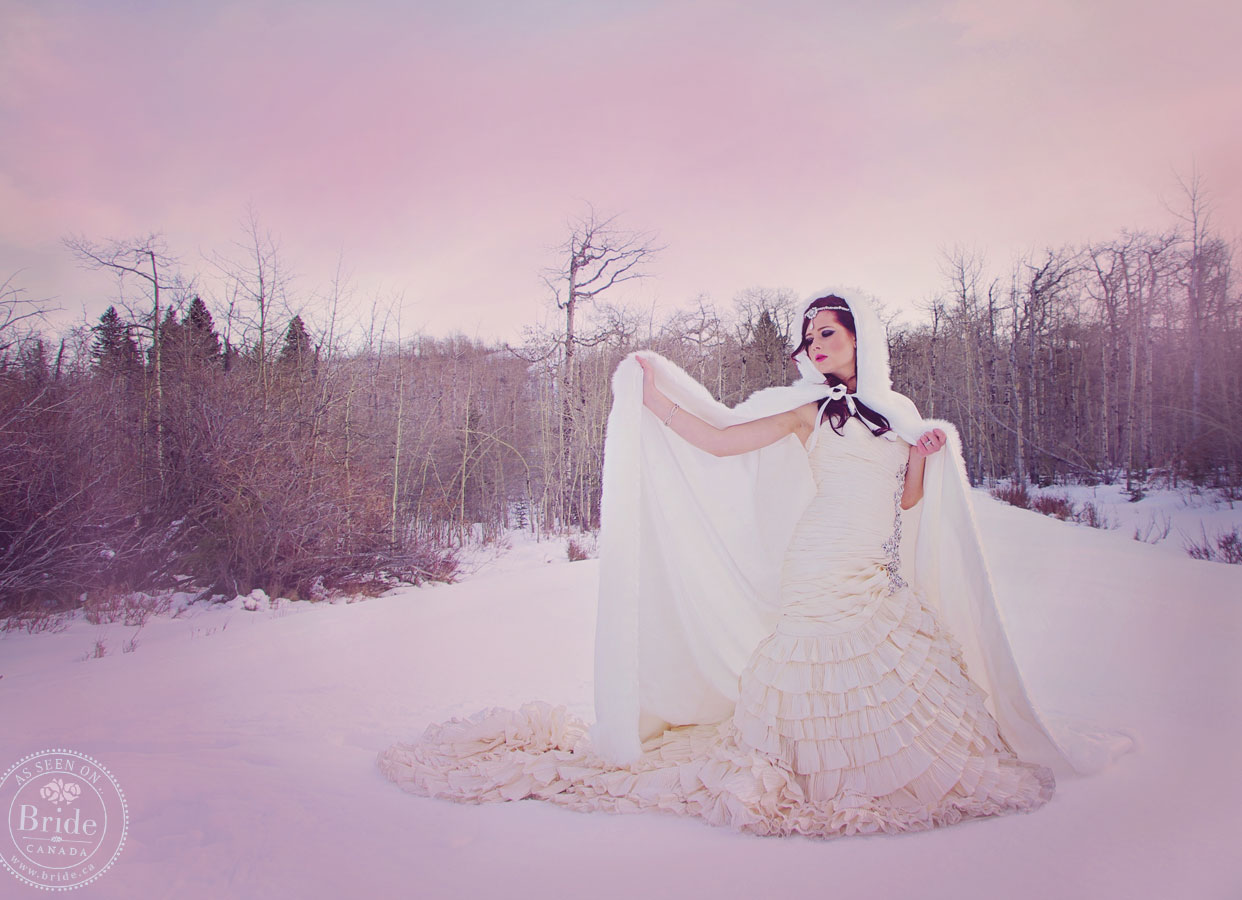 Styled Shoot: Frozen! A Snow Princess For A