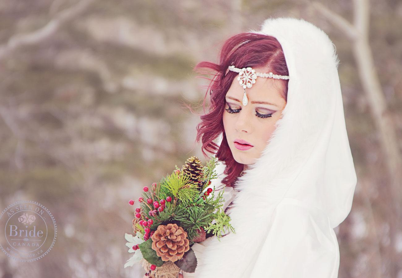Makeup Tips For Winter Wedding : Winter Wonderland Wedding Makeup galleryhip.com - The ...