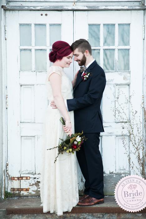 Bohemian Vintage bride & Groom