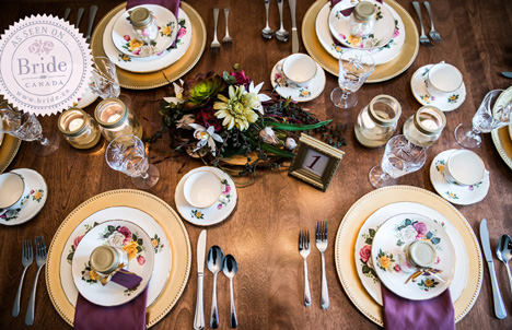 gold, purple and beige, winter wedding theme