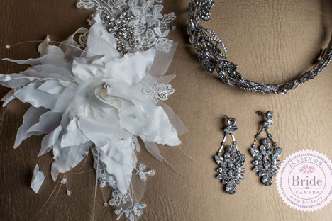 bridal headpiece & jewellery