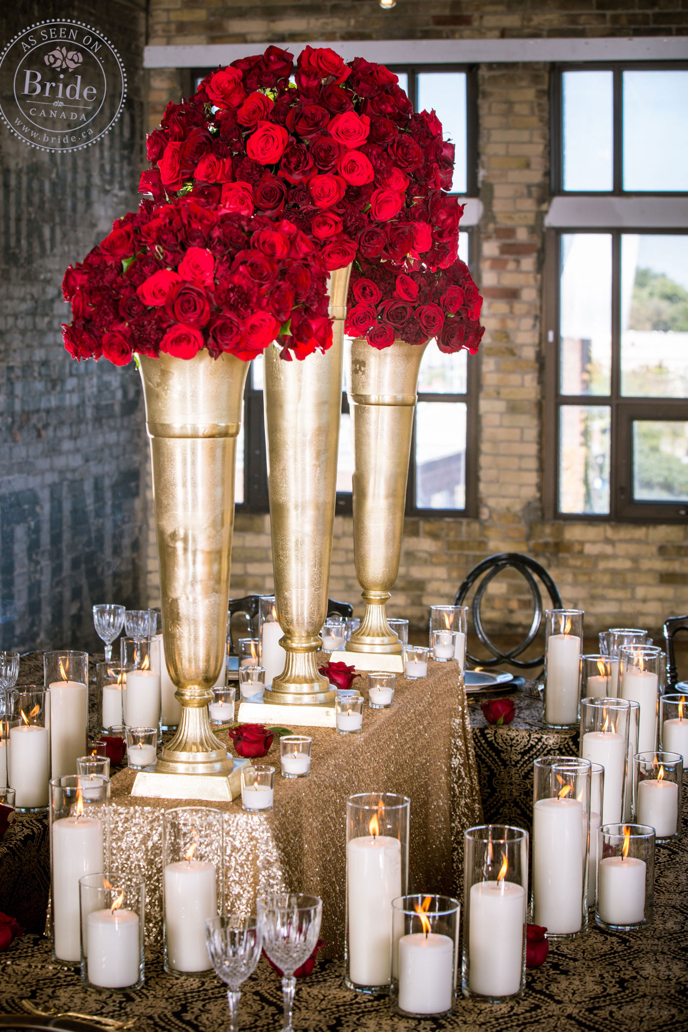 Styled Shoot: Warehouse Wedding At The Burroughes