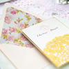 The Gold, White & Pink Wedding Stationary