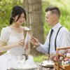 A sweetheart table offers the bride and groom that cozy just the two of us feeling.