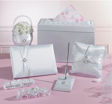 Wedding-in-a-box package, including money box
