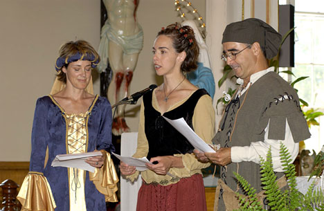 medieval theme wedding in Quebec