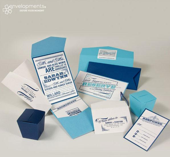 Baby Blue Wedding Invitations: Wedding Colour Themes: Ocean Blue
