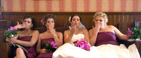 Trinity Weddings Calgary: bride & bridesmaids