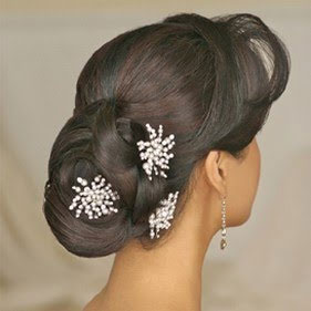 Bridal hair sticks