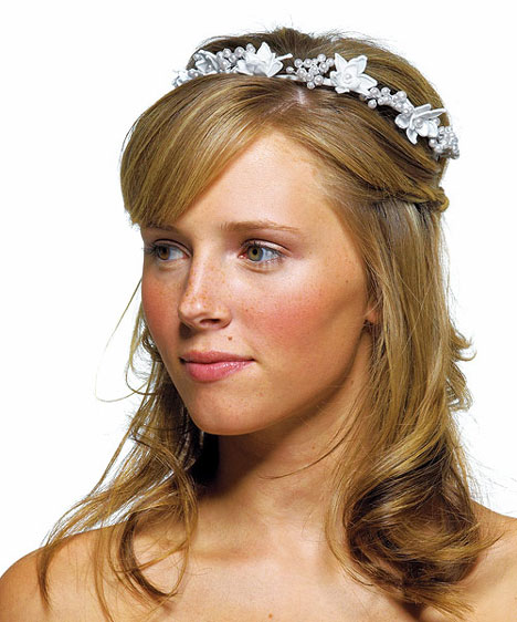 Satin Pearl Tiara