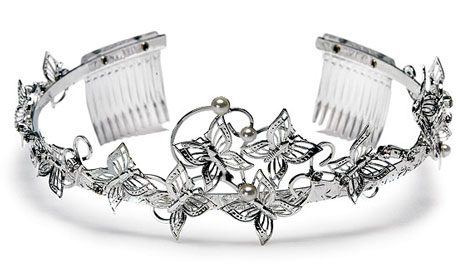 Tiara With Butterflies
