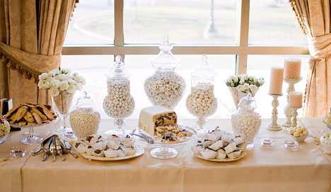White Gold Candy Buffet photo 1
